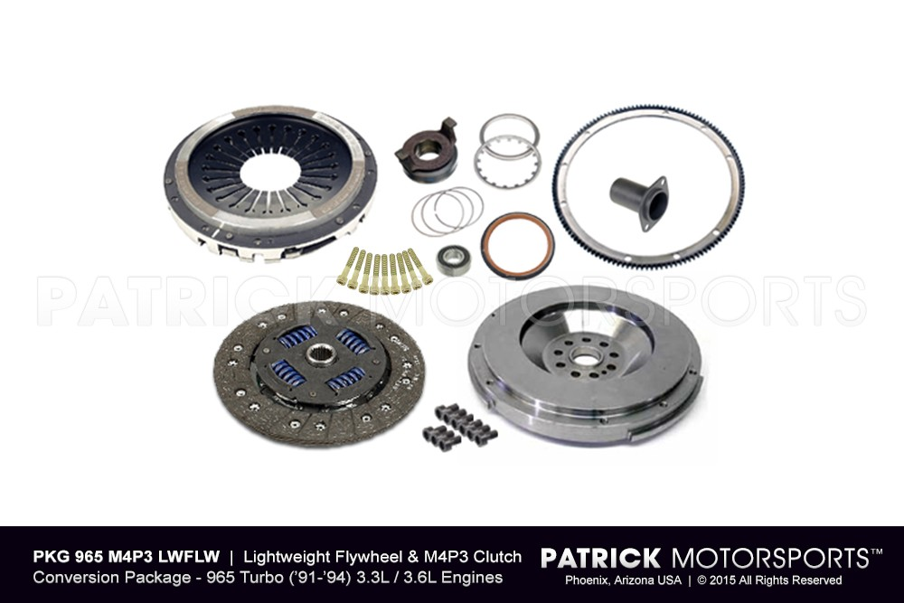964 Turbo Lightweight Flywheel and Sport Clutch Conversion Package