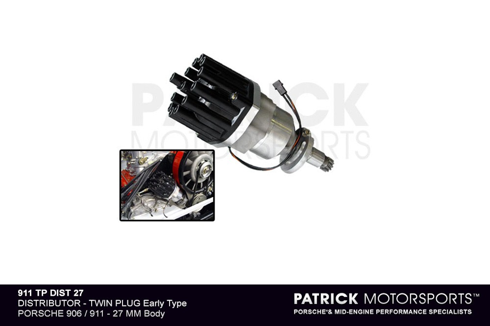 Twin Plug Ignition Distributor System Early Case 27mm