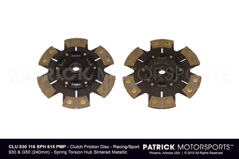 911 - 930 RSR Clutch Friction Disc - 930 & G50 - 240mm Racing / Sport