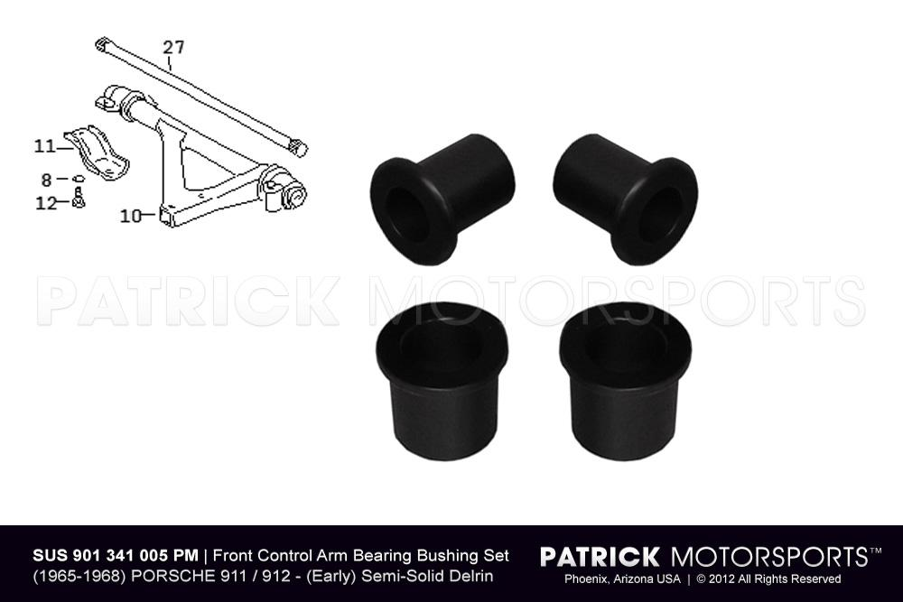 911 - 912 Front Lower Control Arm Bearing Bushing Set