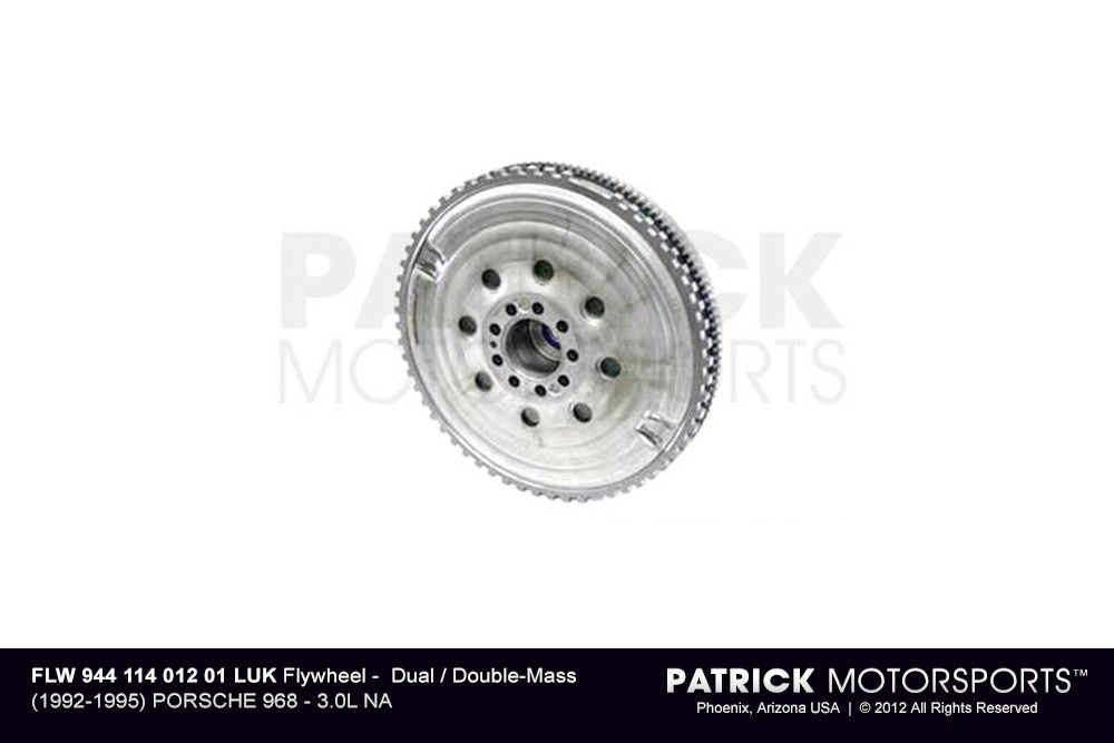 Flywheel - Dual / Double-Mass - (1992-1995) PORSCHE 968