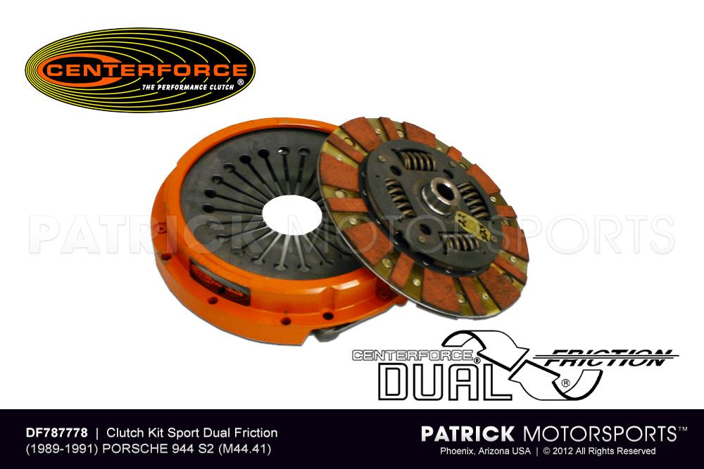 Dual Friction Clutch - Clutch Cover & Disc set - (1989-1991) PORSCHE 944 S2 / 3.0L / (M44.41)