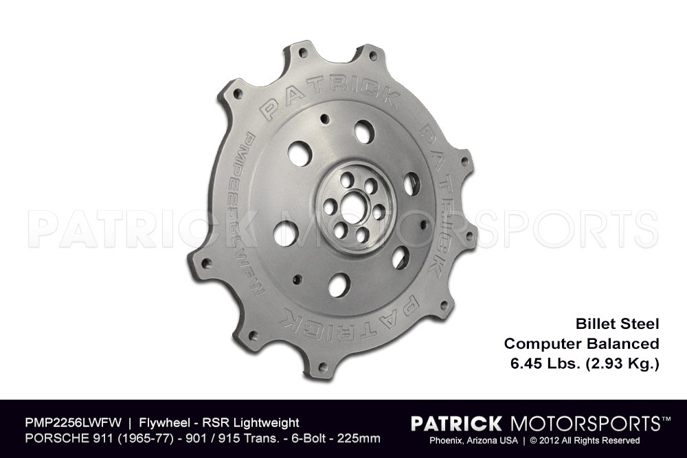Flywheel - 911 RS & RSR 225mm 6 Bolt Crank - 915 901