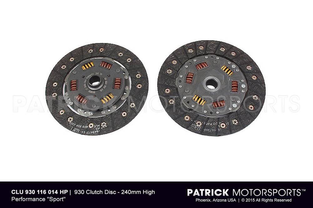 930 Clutch Disc - 240mm High Performance