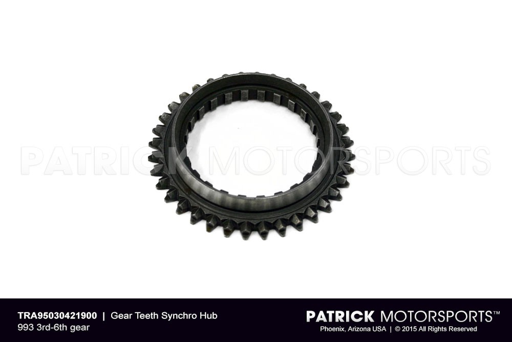 Gear Teeth Synchro Hub 993 3rd-6th gear