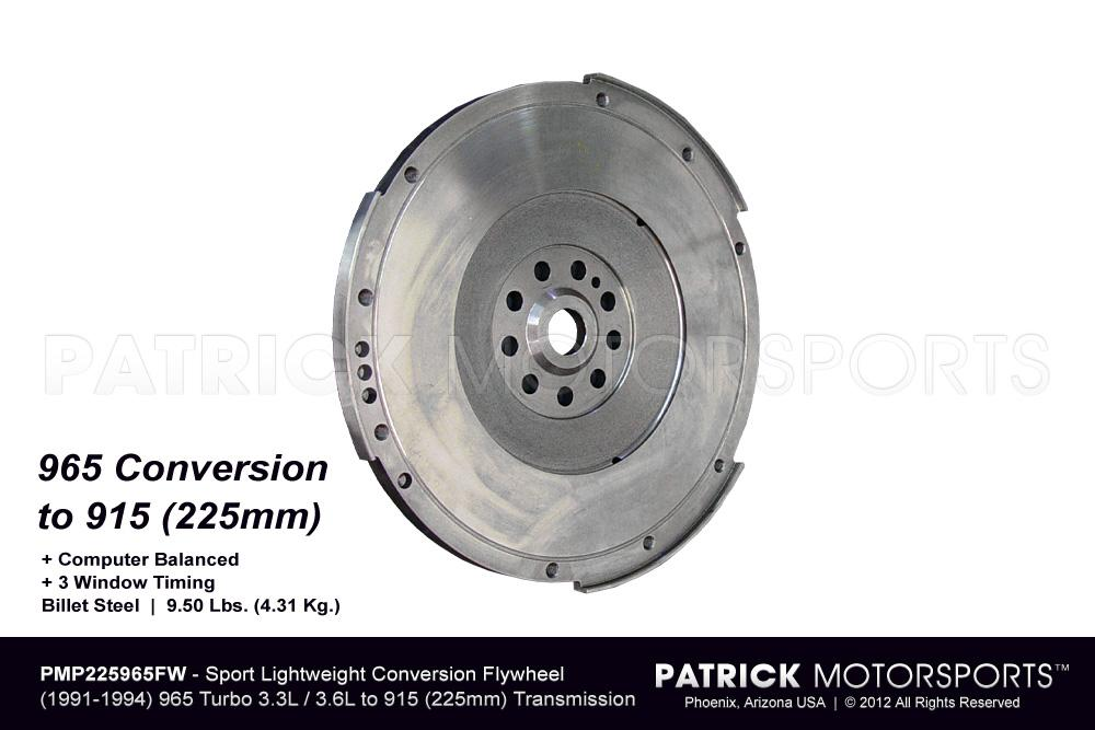 Flywheel - 225mm Conversion 901 / 915 for 964 965 Turbo 3.3L - 3.6L