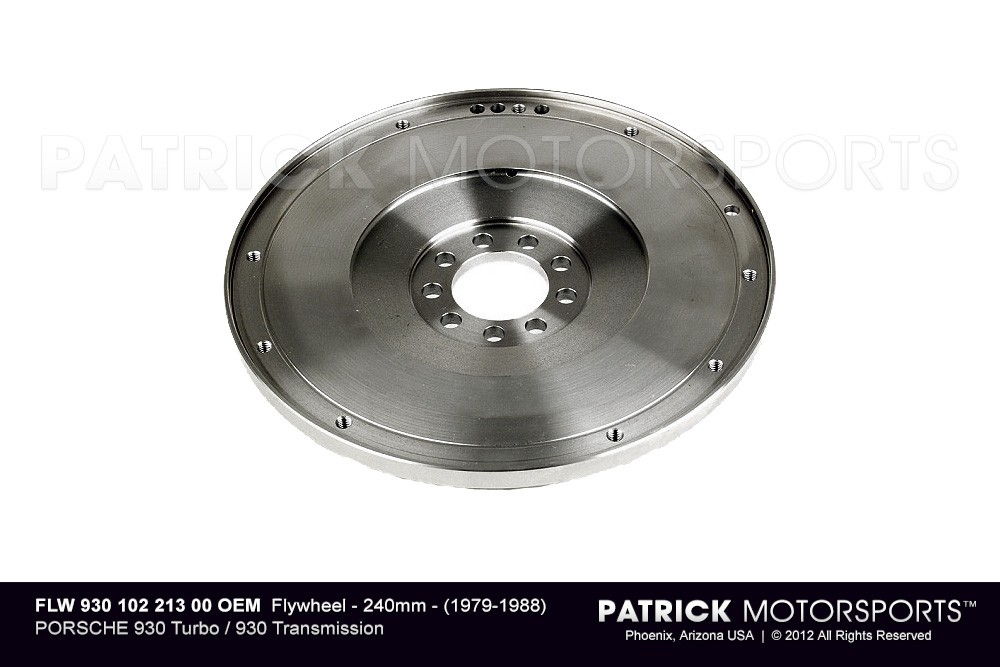 Flywheel - 240mm - (1979-1988) PORSCHE 930 Turbo / 930 Transmission