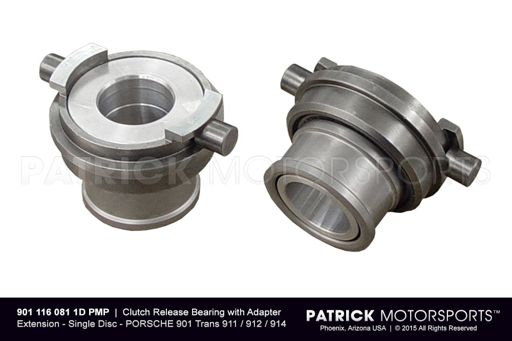 Clutch Release Bearing with Adapter Extension | Quarter Master 5.50 Inch Dia. Single Disc Clutch to PORSCHE 901 Transaxle / 911 / 912 / 914