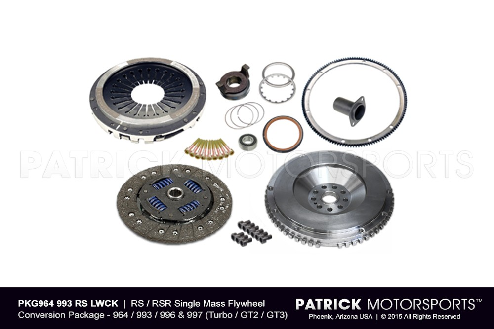 964 993 Euro RS Lightweight single mass clutch package