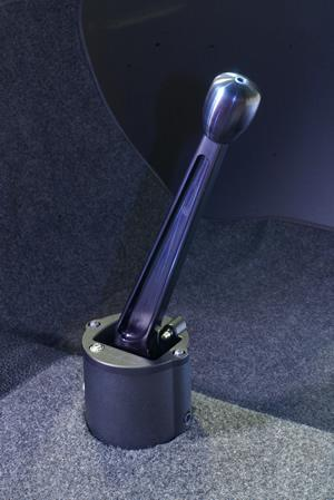 911 - 915 Short Shifter - Black Anodized