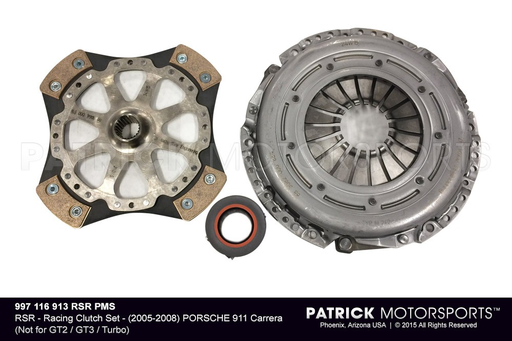 RSR - Racing Clutch Set - (2005-2008) PORSCHE 911 Carrera (Not for GT2 / GT3 / Turbo)