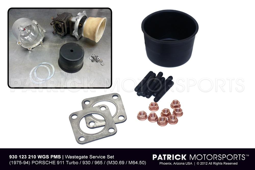 Exhaust Wastegate Service Set - 911 Turbo - 930 - 965