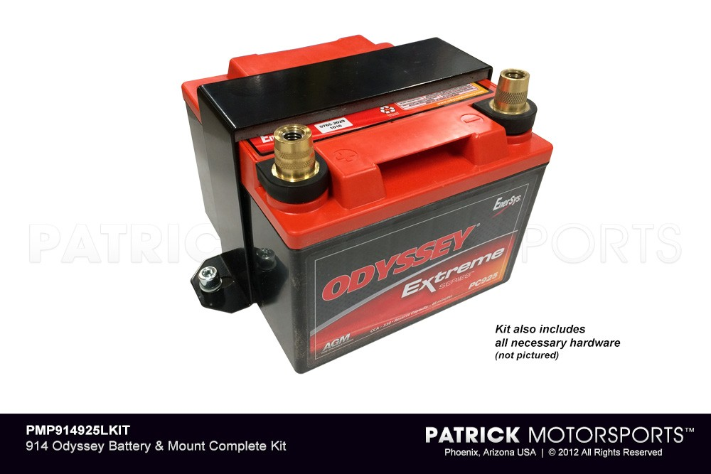 914 Odyssey Battery & Mount Complete Kit