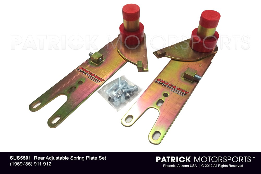 911 912 '69-'86 Rear Adjustable Spring Plate Set