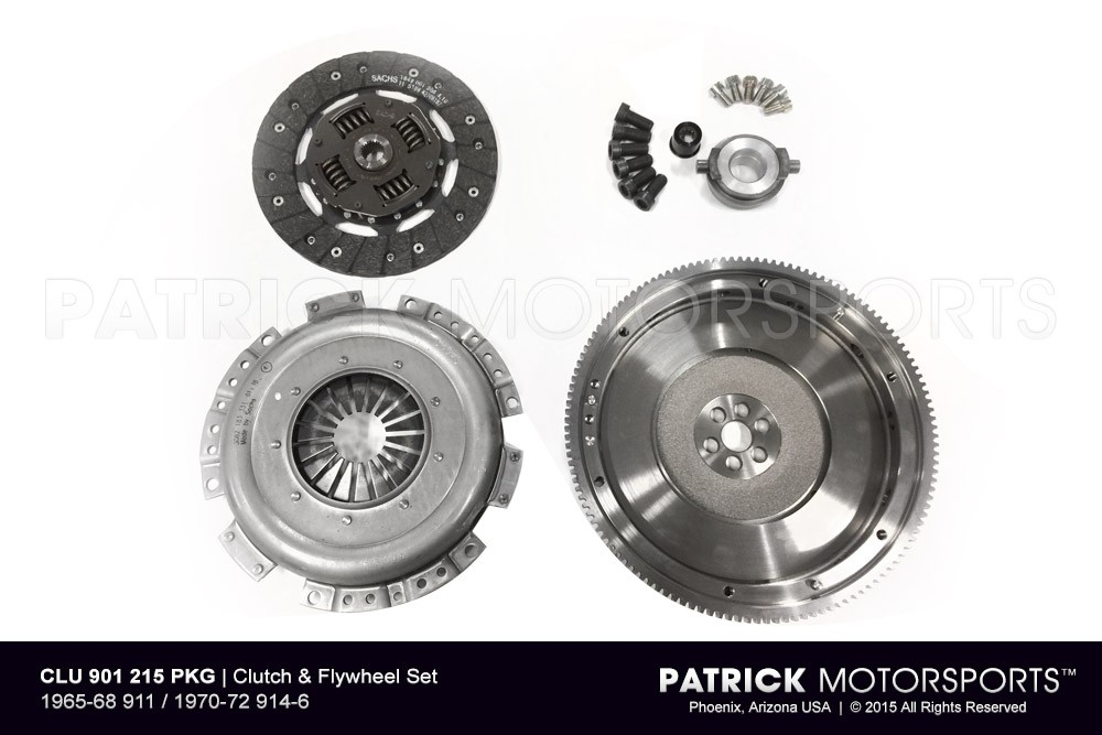 Clutch & Flywheel Set - 1965-68 911 / 1970-72 914-6