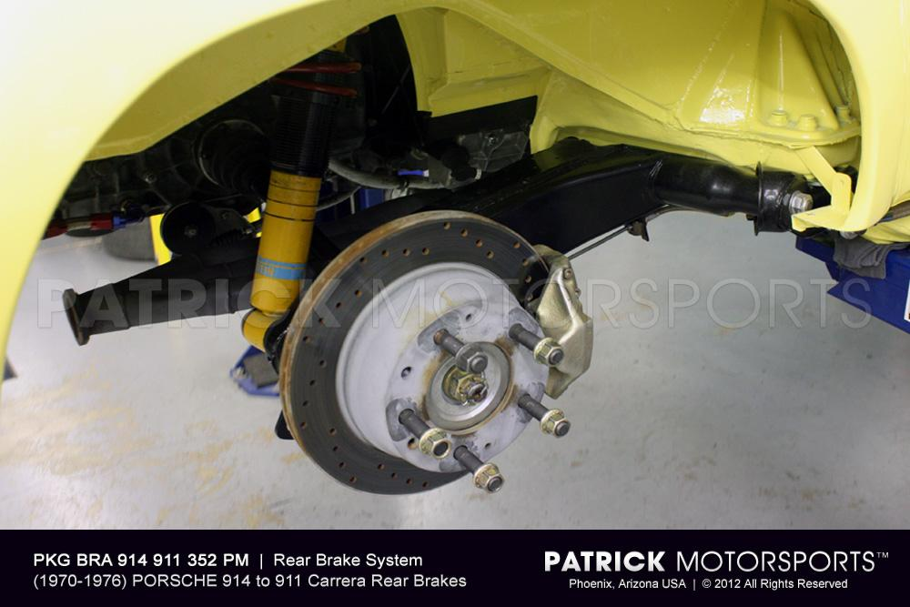 914 Rear Brake Package - 911 Carrera to 914