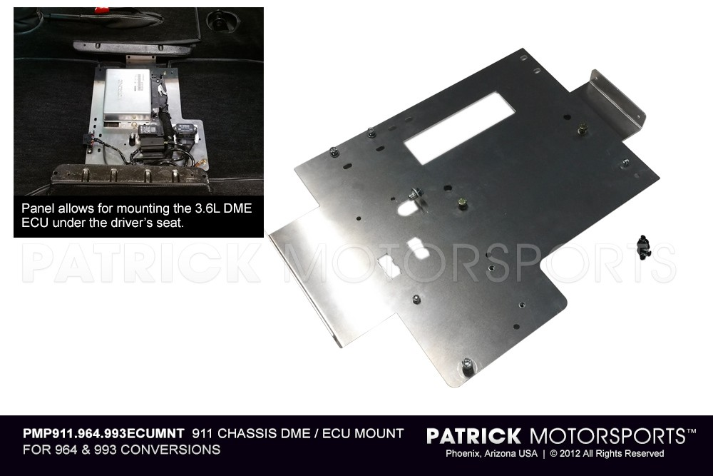 911 CHASSIS DME / ECU MOUNT FOR 964 & 993 CONVERSIONS