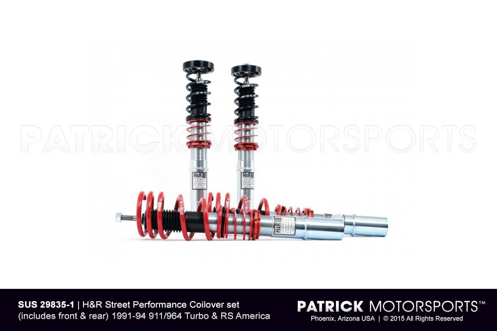 H&R Street Performance Coilover Kit for 91-94 Porsche 964 Turbo & RS America