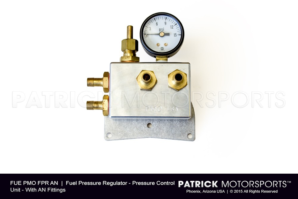 Fuel Pressure Regulator - PMO - AN Fittings