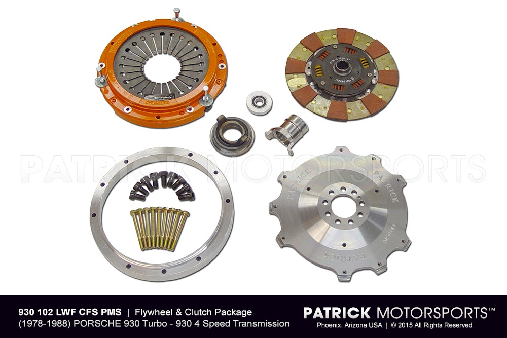 930 Flywheel & Clutch Set -  Lightweight 240mm RSR / Centerforce
