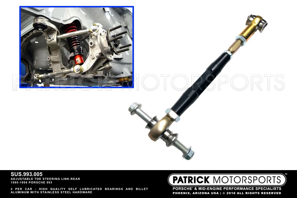Toe Steering Link Rear Suspension 993