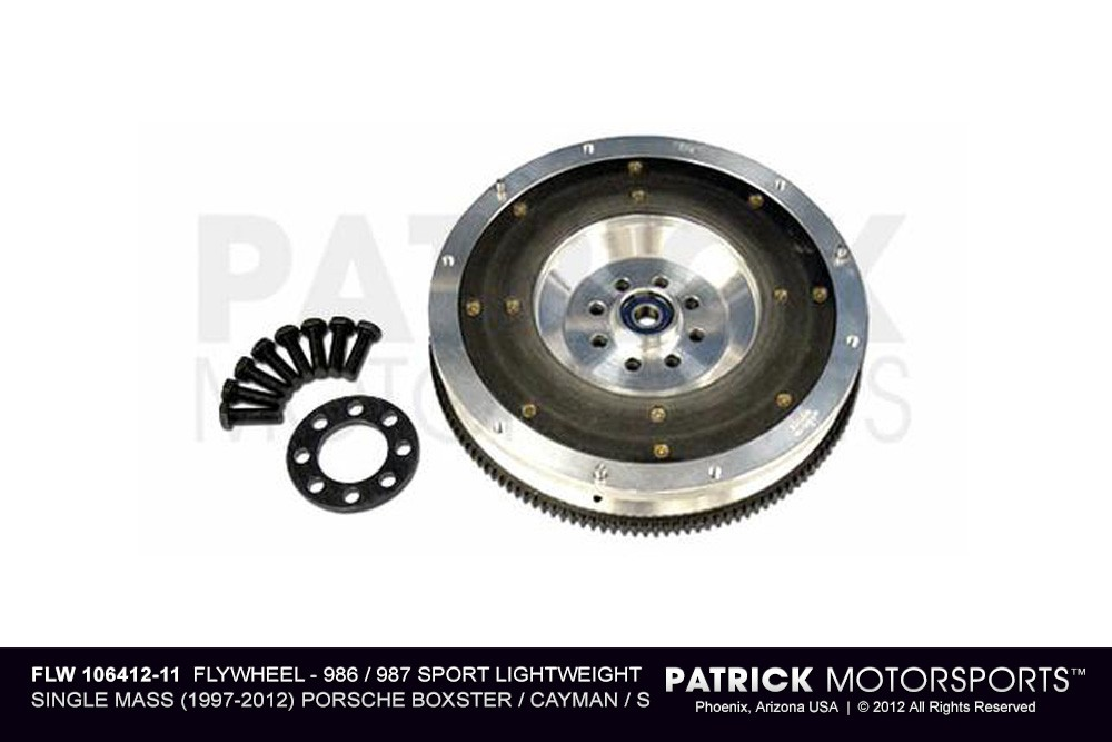 Flywheel - 986 - 987  Sport Lightweight Single Mass - (1997-2012) PORSCHE Boxster / Cayman / S