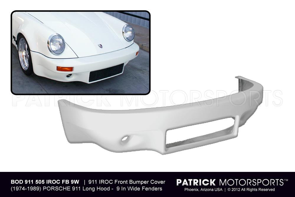 911 IROC Front Spoiler Bumper Cover - (1974-1989) PORSCHE 911 / 930 Turbo (Wide Body)