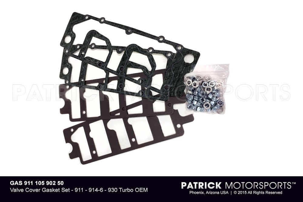 Valve Cover Gasket Set - 911 - 914-6 - 930 Turbo OEM