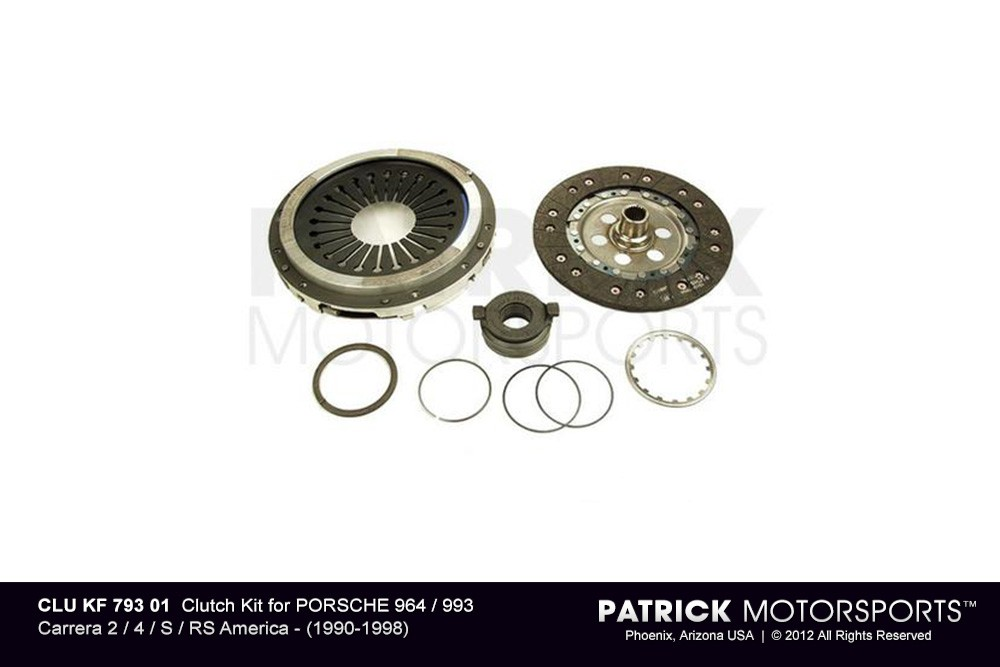 Clutch Kit - PORSCHE 964 / 993 Carrera 2 / 4 / S / RS America