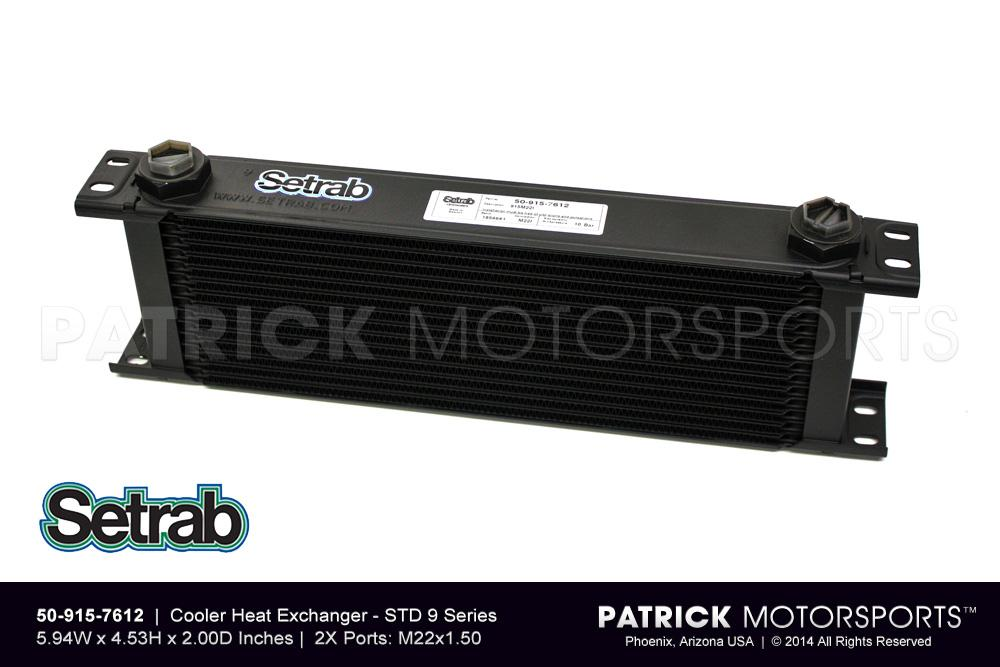 Heat Exchanger / Oil Cooler - 15 Row Pro Line STD 9 Series - Setrab