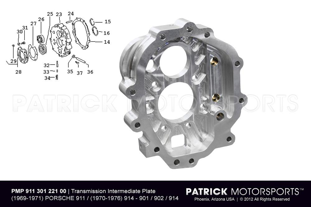 Intermediate Plate - 901, 902 Transmission Housing