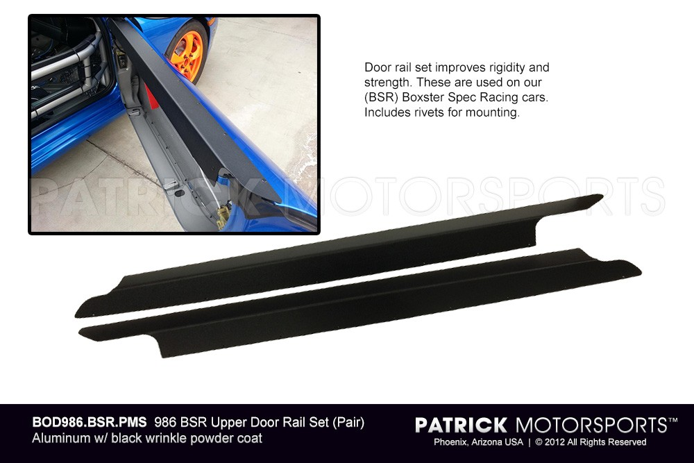 986 Boxster BSR Door Rail Set