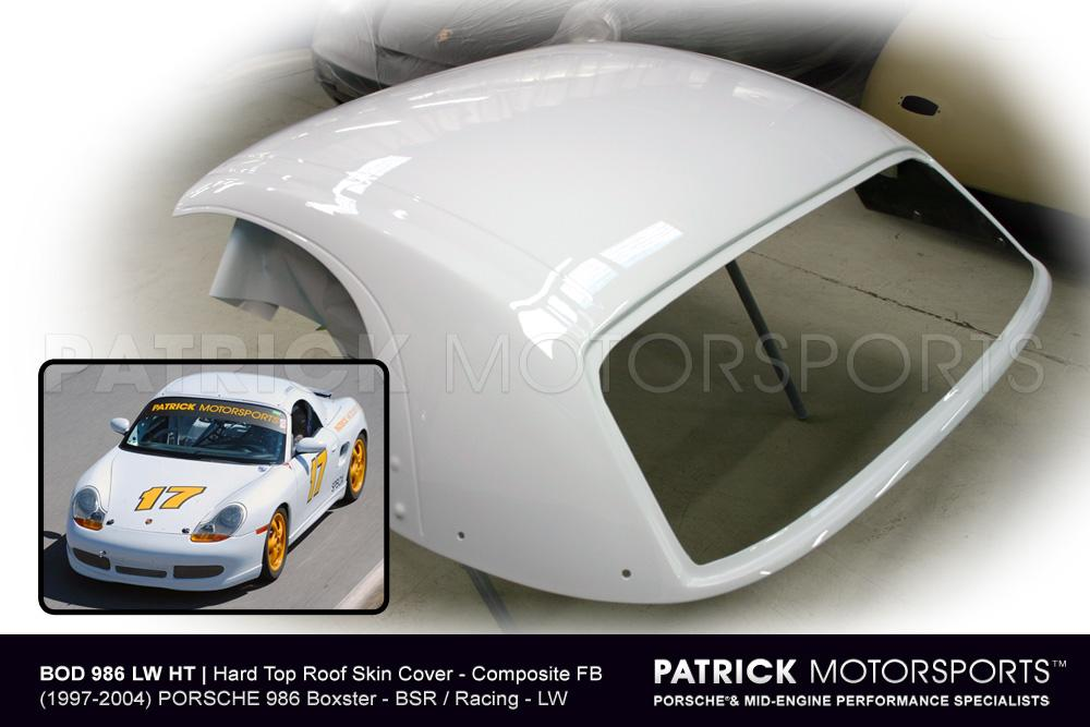 Hard Top Roof Skin Cover - (1997-2004) PORSCHE 986 Boxster - BSR / Racing