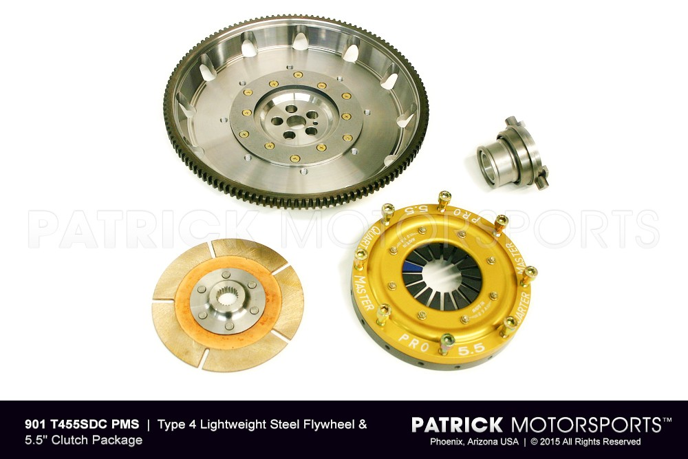 RSR Flywheel & Clutch Set - Lightweight Type 4 | 5.5 Inch Clutch