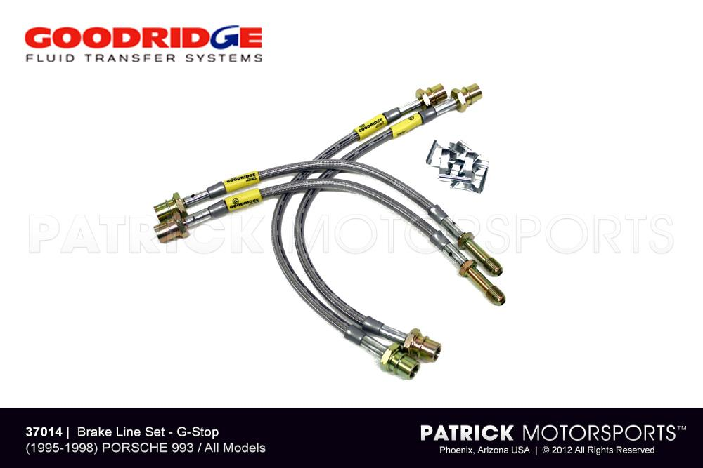 Brake Line Set - (1995-1998) PORSCHE 993 / 993 Turbo