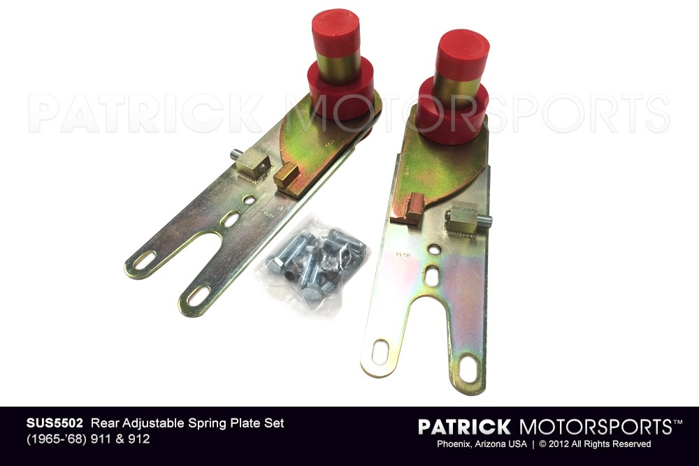 911 912 Rear Adjustable Spring Plate set Sway-A-Way