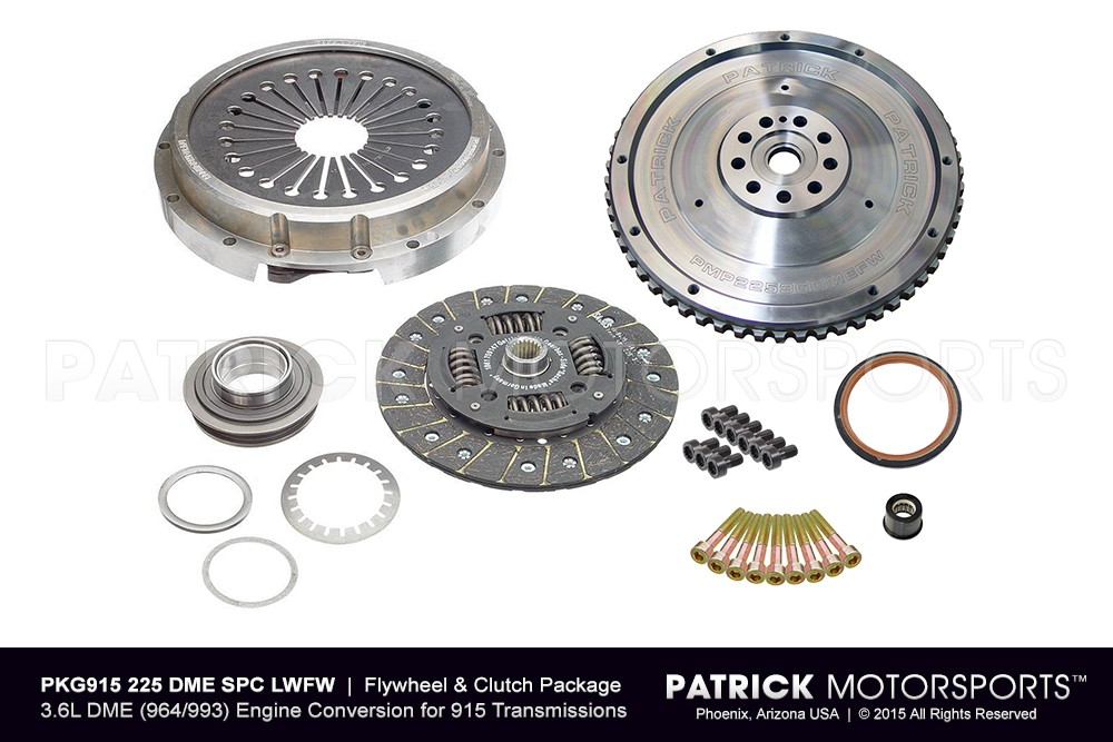 Flywheel and Clutch Package for 3.6L DME Conversion to 915