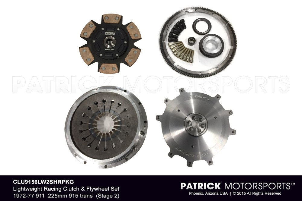 Lightweight Racing (Stage 2) Clutch & Flywheel PKG 1972-1977 911