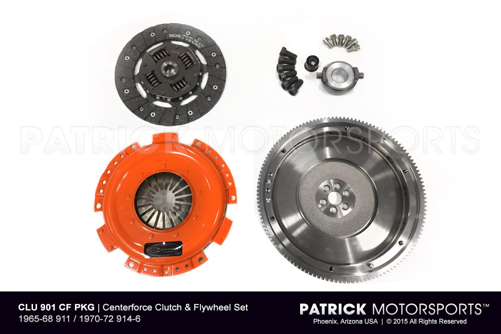 Centerforce Clutch & Flywheel Set - 1965-69 911 / 1970-72 914-6