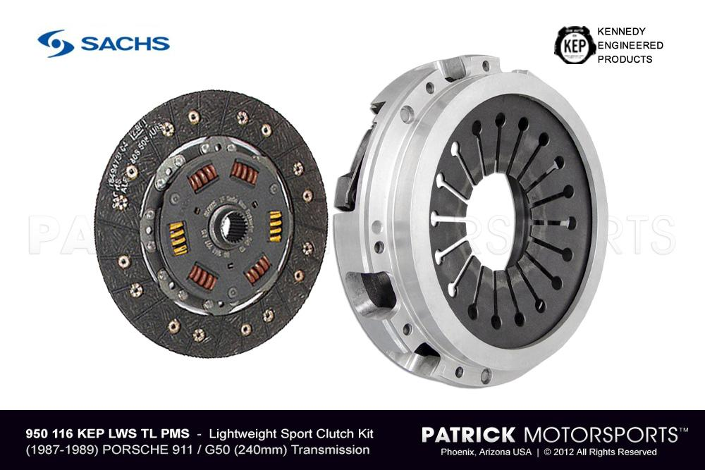 911 G50 Sport Clutch Set - (1987-1989) PORSCHE 911 / G50-00/01/02 Transmission - HD LITE