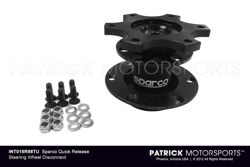 SPARCO Quick Release Steering Wheel Disconnect