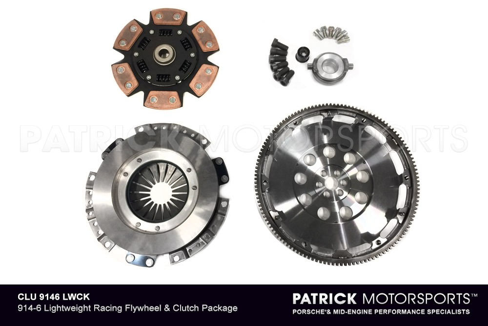 914-6 Lightweight Flywheel & Clutch Package