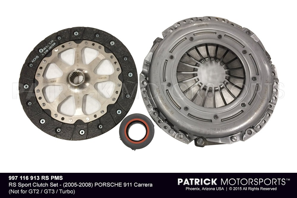 RS Sport Clutch Set - (2005-2008) PORSCHE 911 Carrera (Not for GT2 / GT3 / Turbo)