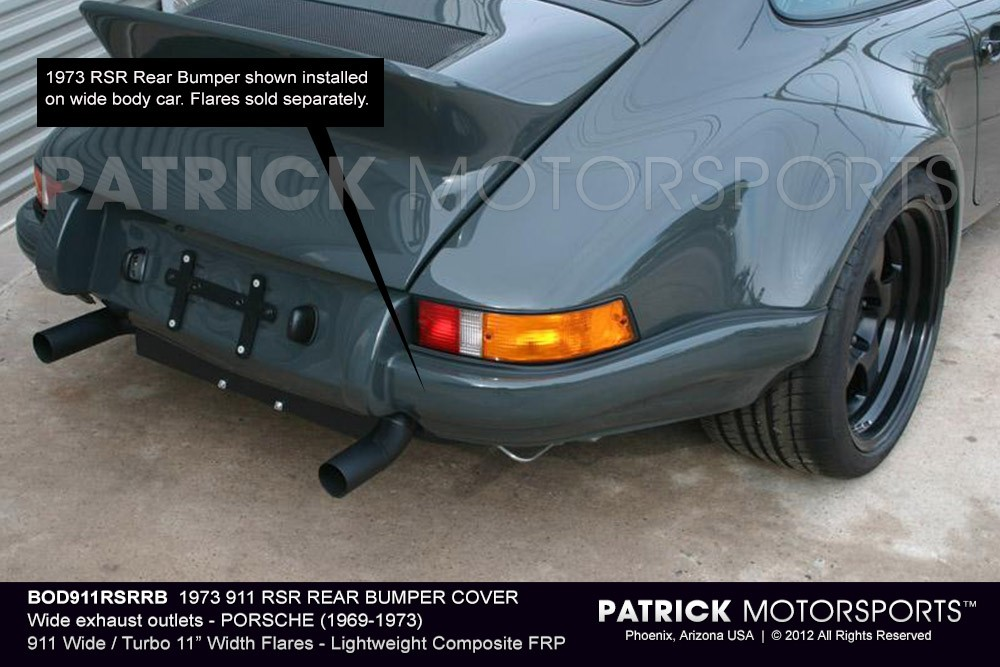 1973 911 RSR REAR BUMPER COVER