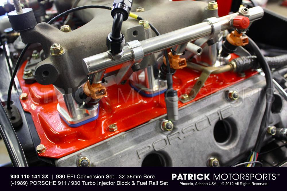 930 EFI Conversion Set - Intake Manifold Injector Block Flange & Fuel Rail Set - 36mm & 38mm Bore