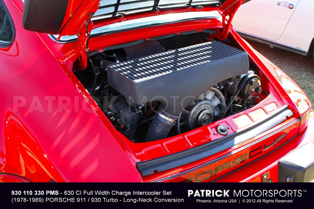 930 Turbo Charge Air Intercooler Set - 630 CI Full Width Conversion