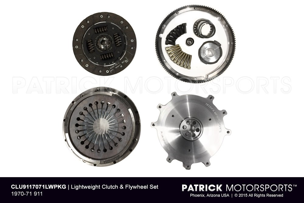 1970-71 911 Lightweight Flywheel & Clutch Package