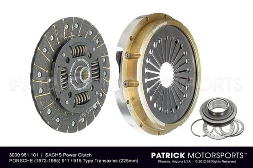 911 / 915 Sachs Power Clutch Performance 225mm