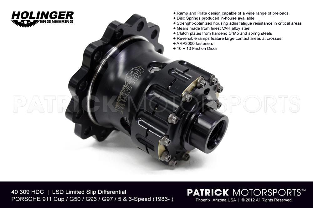 LSD Limited Slip Differential - PORSCHE 911 Cup / G50 / G96 / G97 Diff