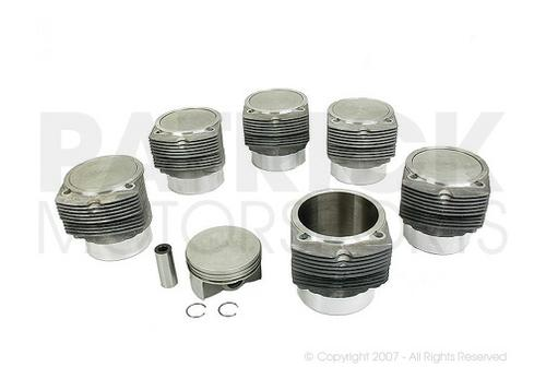 Piston and Cylinder Set OF 6 - 911 Turbo 930 3.3L